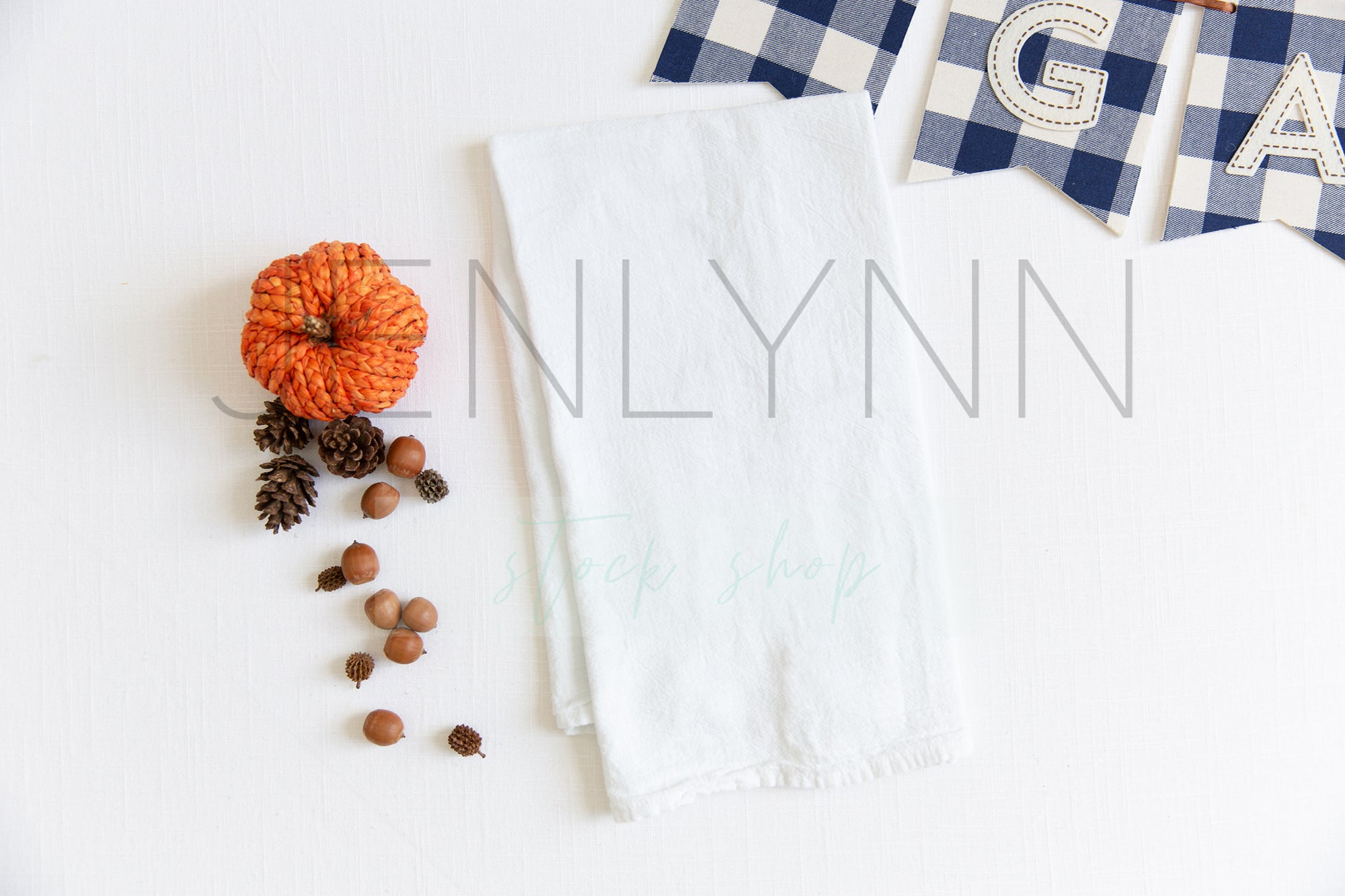 Fall Kitchen Towel Mockup #8 JPG