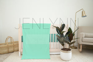 30x40 Minky and Crib Sheet Mockup NN#14