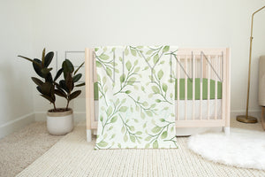 30x40 Minky and Crib Sheet Mockup NN#15