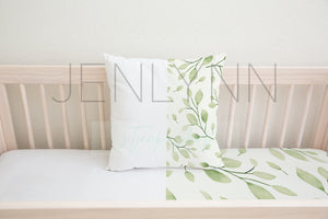 White Pillow + Sheets Mockup #NN36