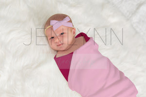 Jersey Baby Blanket Mockup #2 PSD