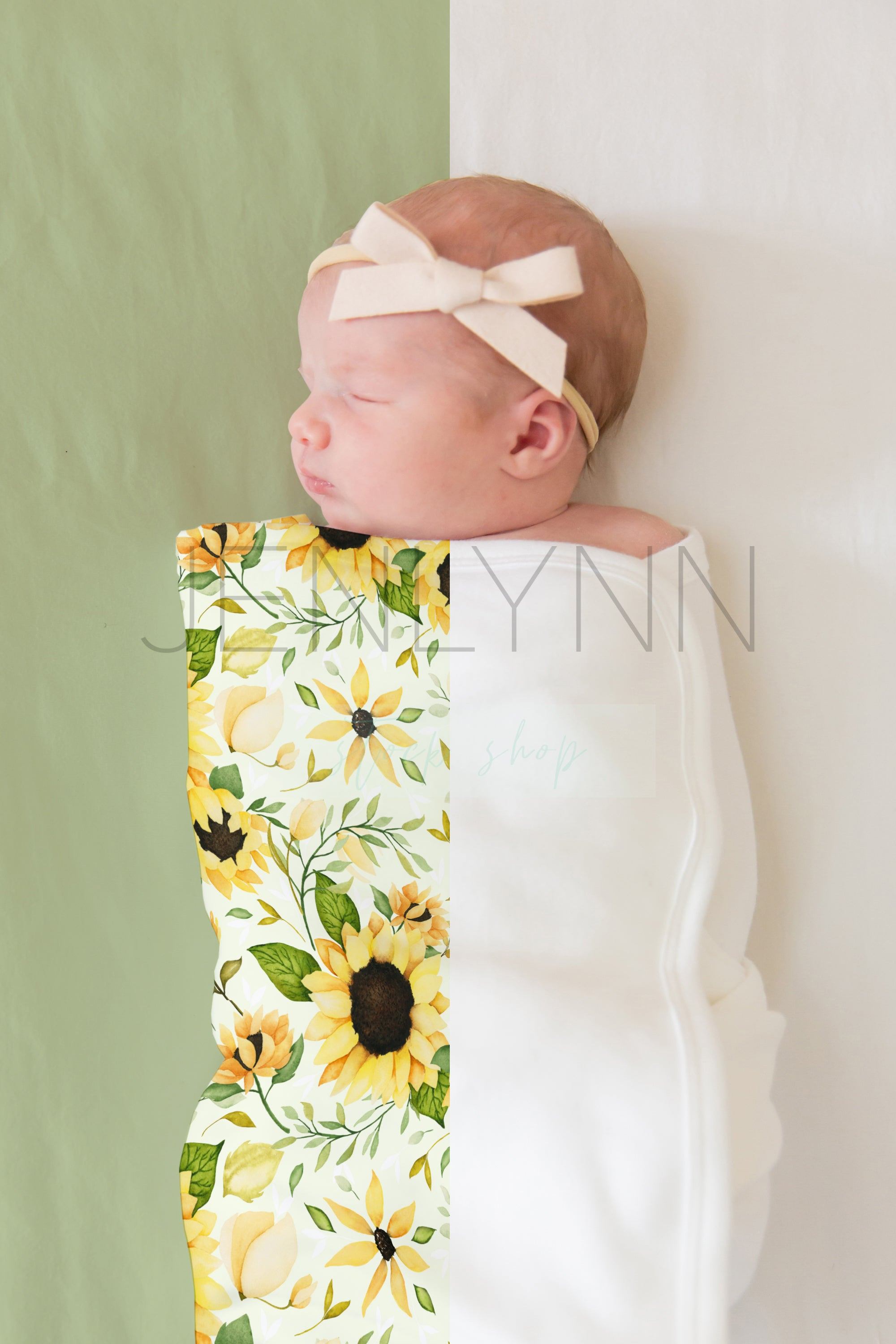 Jersey Baby Blanket Mockup #1 PSD
