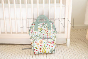Custom Diaper Bag Backpack Mockup #12 PSD