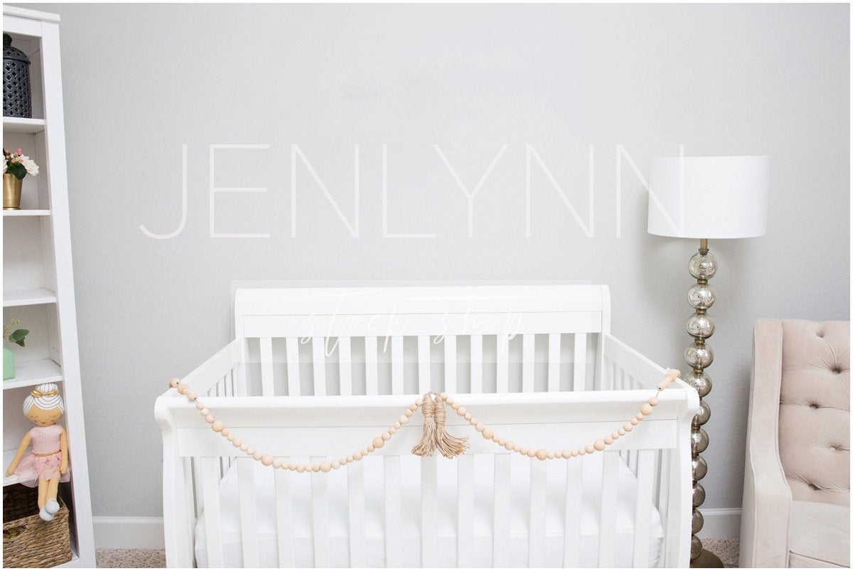 Boho Neutral Nursery Blank Wall #8