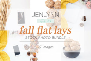 Fall Flat Lays Bundle JPG