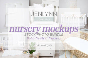 Boho Neutral Nursery Fabric Bundle JPG