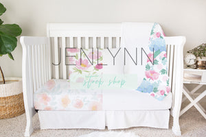 Toddler Bed Sheet Mockup #2