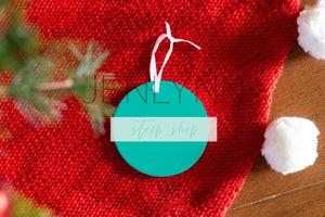 Christmas Ornament Mockup #1