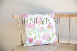 Square Pillow Mockup #1