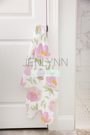 Baby Towel Mockup on door knob #7