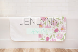 Baby Towel Bathtub Mockup #9