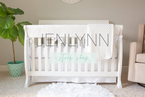 Teething Crib Rail Cover Mockup, Dimple Dot Blanket Mockup, Crib Sheet Mockup, Crib Skirt Mockup, Nursery Mockup, Nursery Bedding Mockup