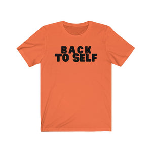 Back To Self Unisex Jersey Short Sleeve Tee
