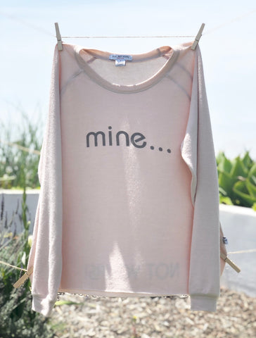 Say it - Pullover: Pink