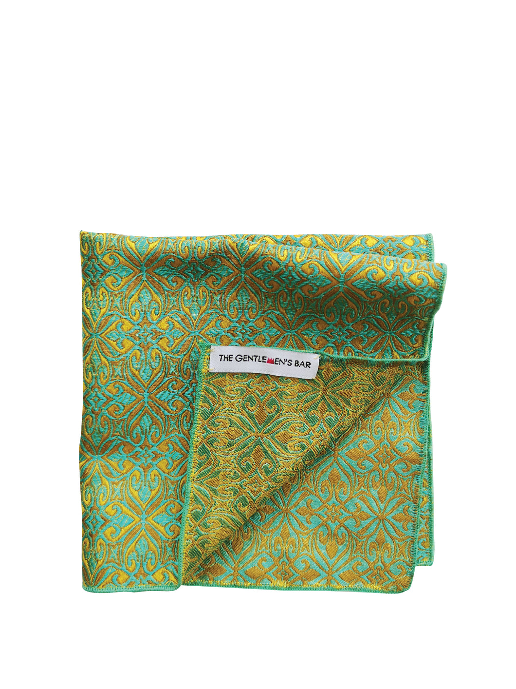 THE FDL GY POCKET SQUARE