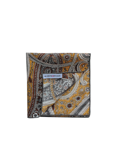 THE SELIM 0  POCKET SQUARE