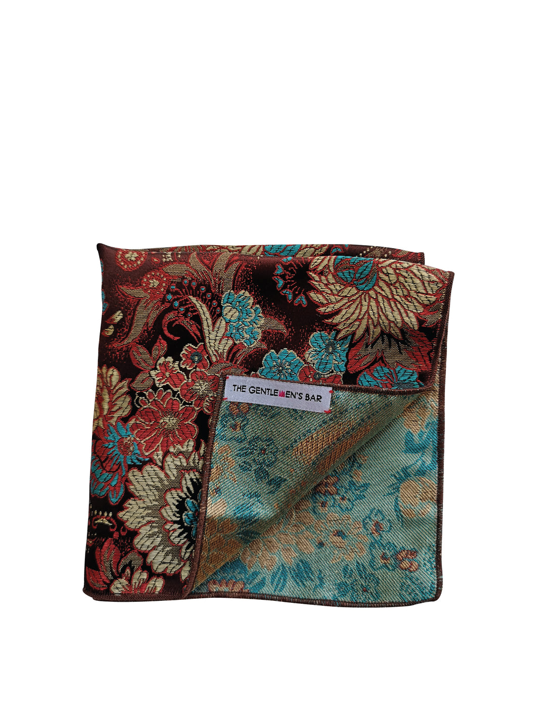 THE FU GUI BR POCKET SQUARE