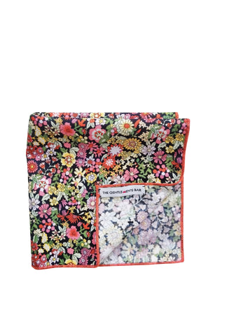 THE LOST GARDEN R POCKET SQUARE