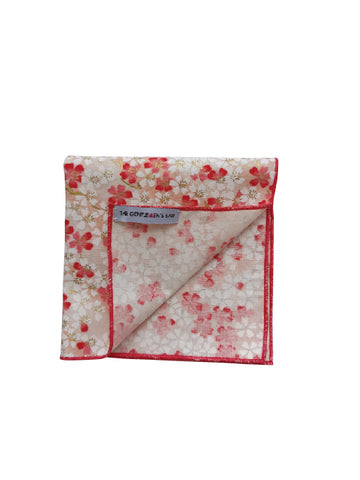 THE SAKURA PW POCKET SQUARE