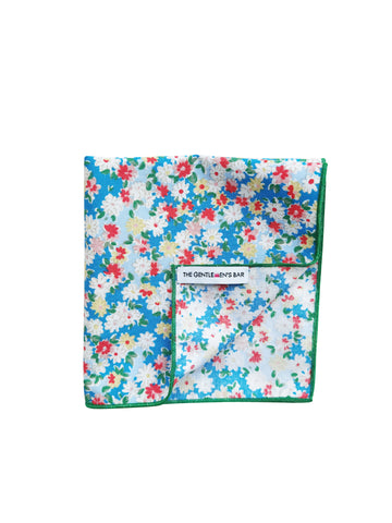 THE SOMERLEYTON B POCKET SQUARE