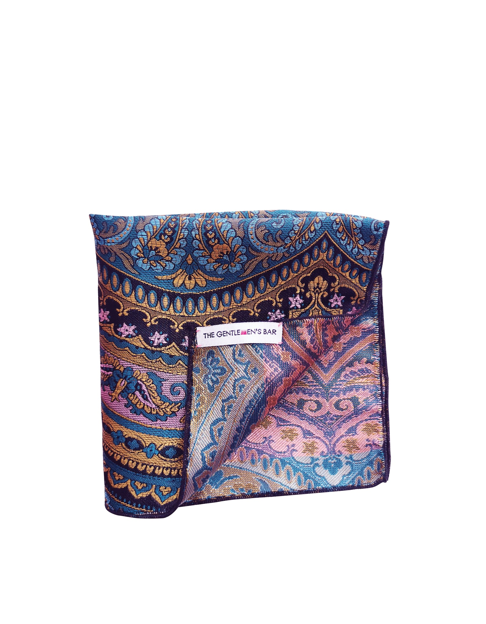 THE ZAIN B POCKET SQUARE