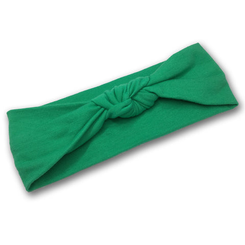 Knot Headband - Emerald