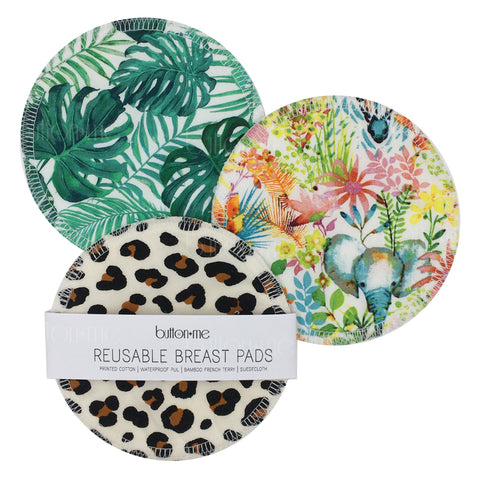 In The Jungle Reusable Breast Pad Set