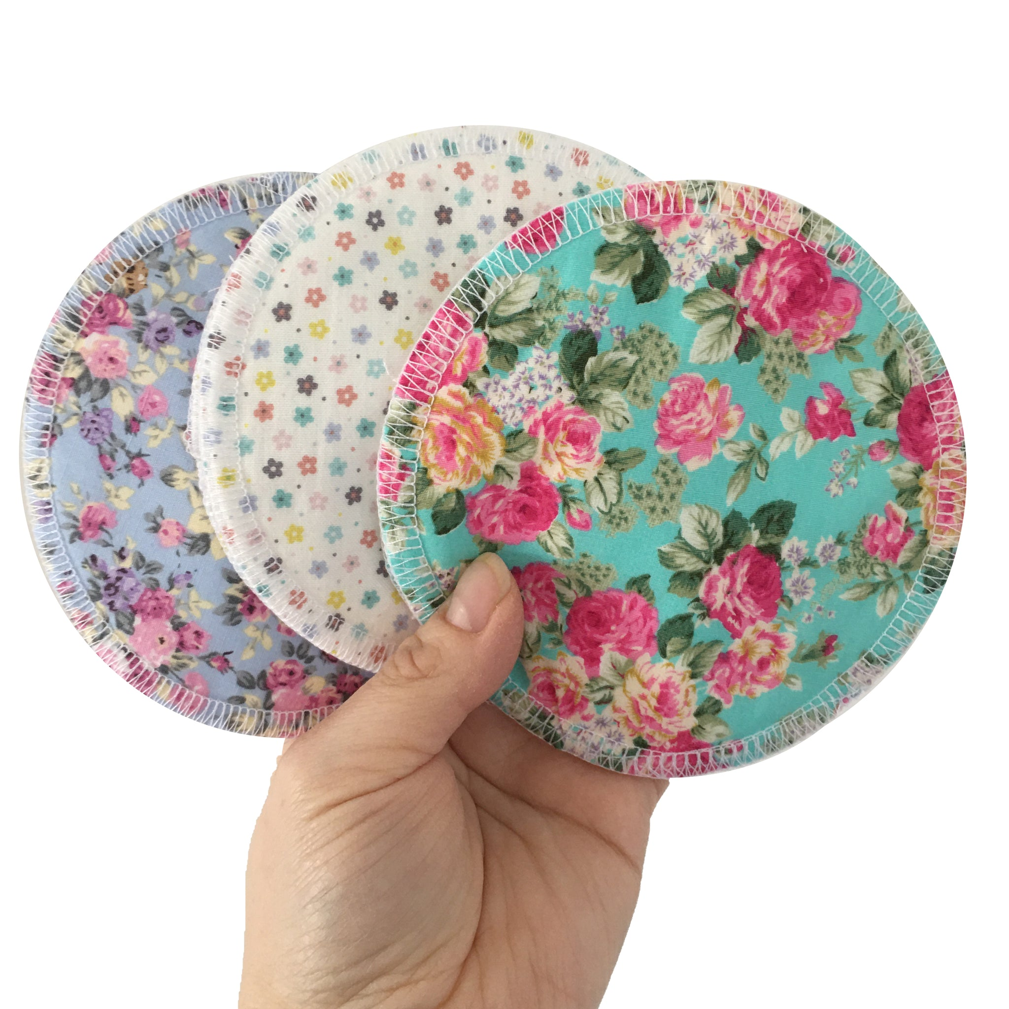 Pretty Little Bunch Reusable Breast Pad Set
