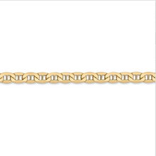 Load image into Gallery viewer, 14kt Yellow Gold Anchor Chain 4.75 mm