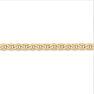 14kt Yellow Gold Anchor Chain 4.75 mm