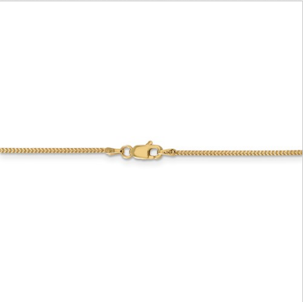 14kt Yellow Gold Franco Chain .90 mm