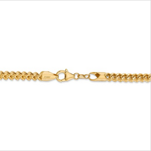 14kt Yellow Gold Franco Chain 3.7 mm