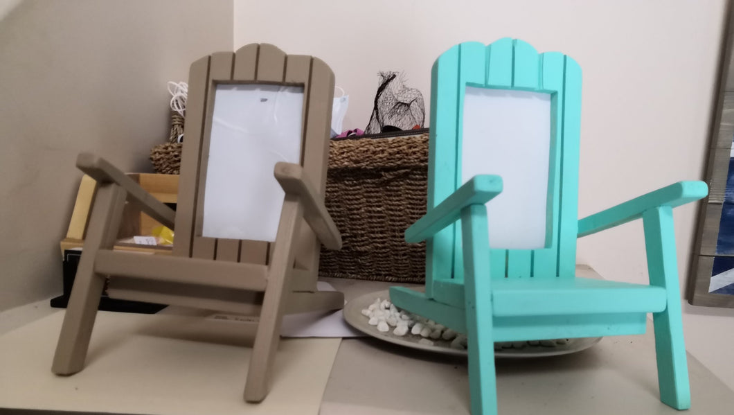 Camping Chair Photo Frame