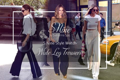 Style Watch | Wide Leg Trousers