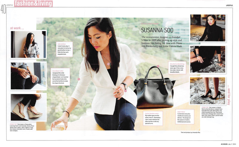 SCMP Lifestyle Magazine, July 2015