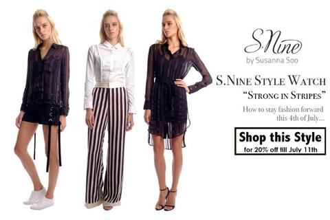 Style Watch | Strong In Stripes