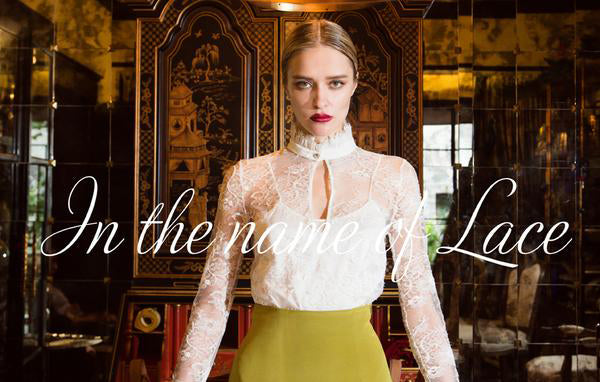 What's In Store This Fall/Winter At S.Nine? Pt. 2 In The Name Of Lace