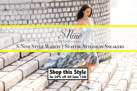 S.Nine Style Watch - Staying stylish in sneakers!