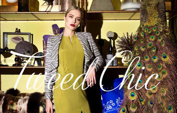 What's In Store This Fall/Winter At S.Nine? Pt. 4 Tweed Chic