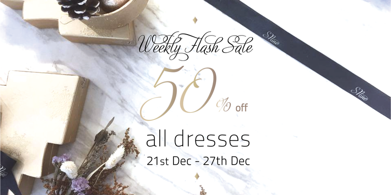Christmas Weekly Flash Sale, 50% off all Dresses!