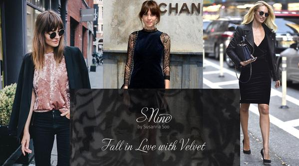 What's In Store This Fall/Winter At S.Nine? Pt. 5 Fall in Love with Velvet
