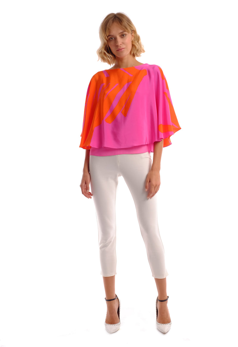 Lynne Cape Top