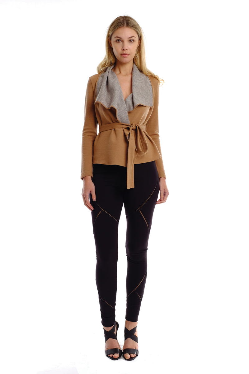 Amika Two-way Wool Jacket (Short)