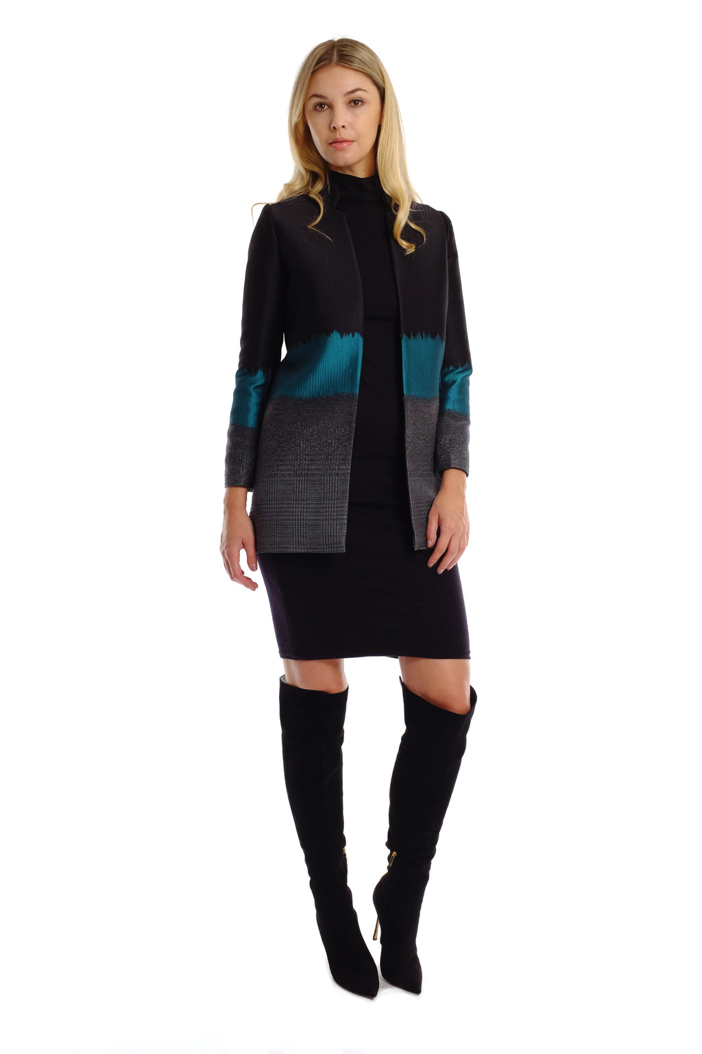 Rovina 3-toned Coat