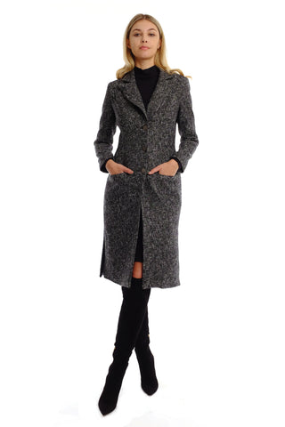Sianna Tweed Coat (Long)