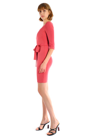 Noor Square Neckline Dress