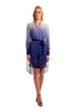 Danna Chiffon Shirt Dress (Silk Underdress Included)