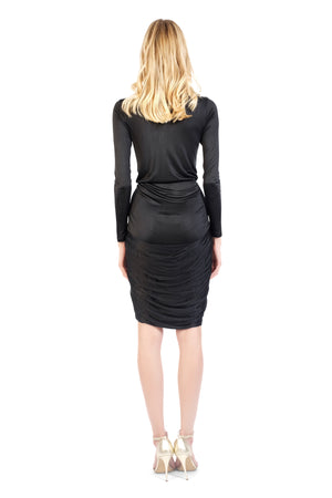 New Hudson Waxy Jersey Dress