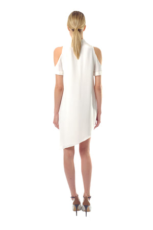 Heather Silk Crepe Dress