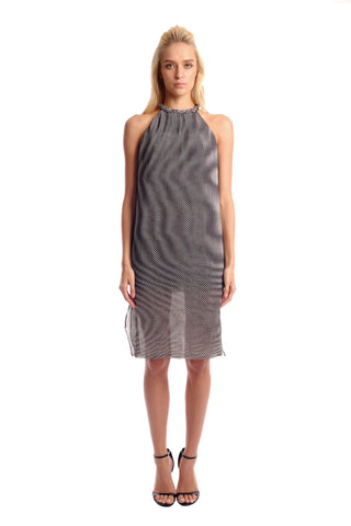 Kenzo Micro Pleated Dress (Short)